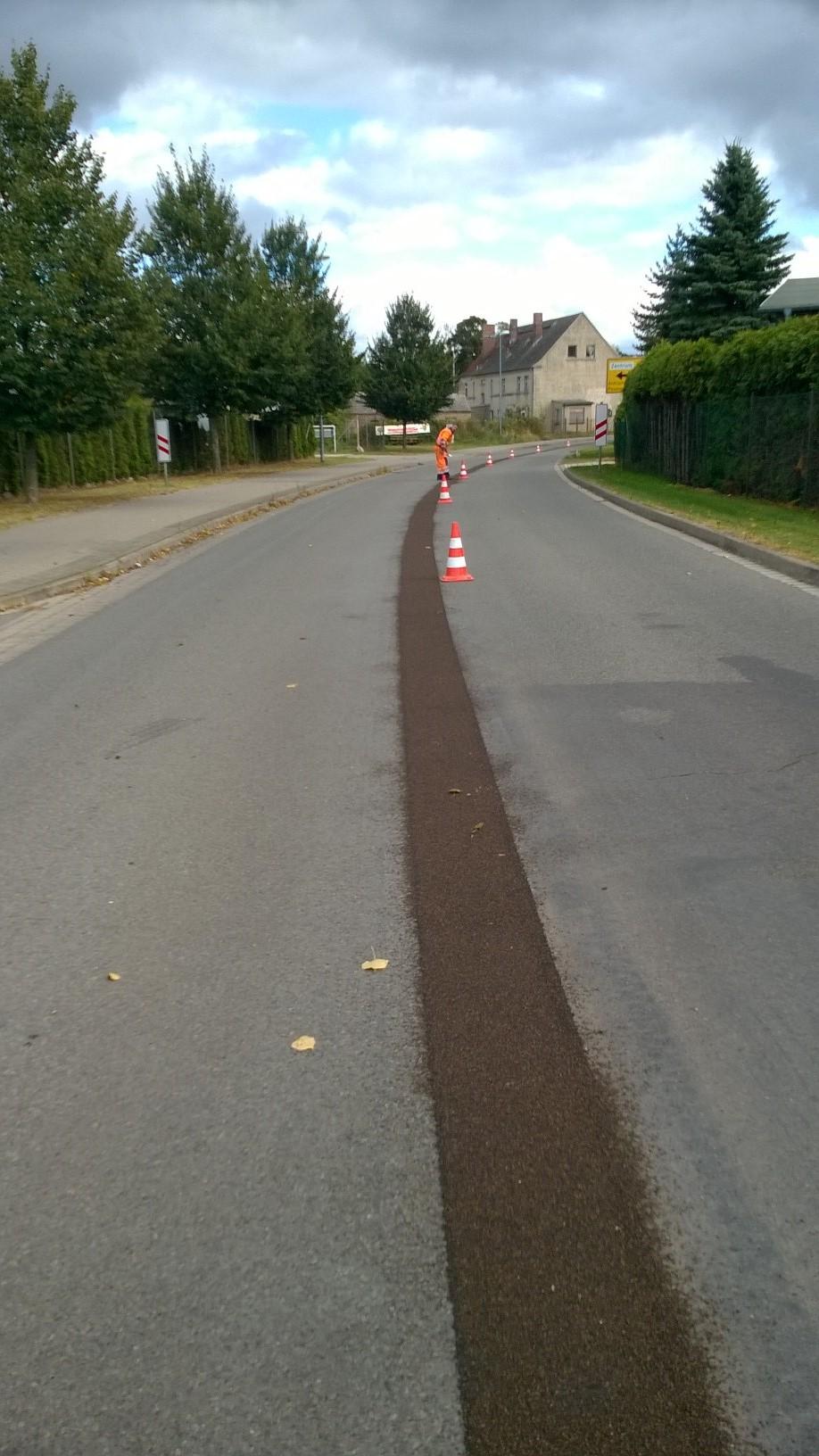 Mittelnahtsanierung auf Landesstraßen SM Eggesin