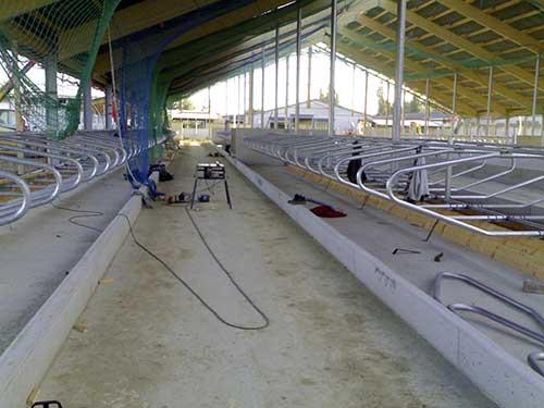 Modernisierung und Erweiterung der Milchviehanlage in Neuendorf